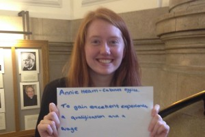 Head shot of Annie Hearn, Fast Track Apprentice with the Cabinet Office