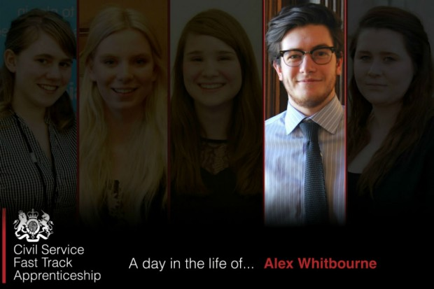 A day in the life of... Alex Whitebourne
