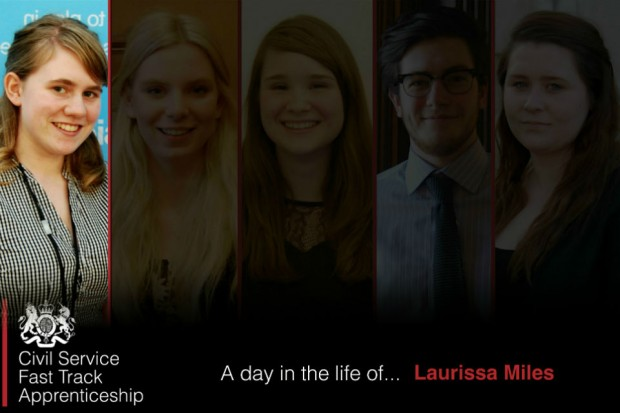A day in the life: Fast Track Apprentice Laurissa Miles